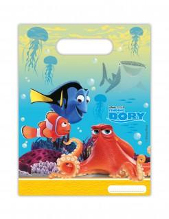 Geburtstagstüten Dory™ Disney-Lizenzartikel 6 Stück bunt 16,5x23cm