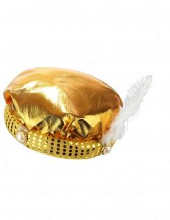 Edle Sultan-Mütze Turban gold
