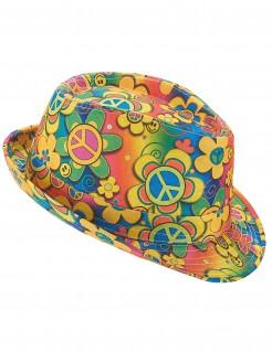 70er Jahre Hippie-Hut bunt