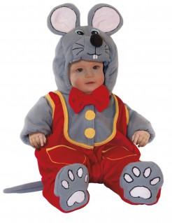 Maus Kostüm Mäuschen für Baby