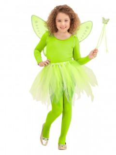 Feen-Kinderkostüm Fantasykostüm grün