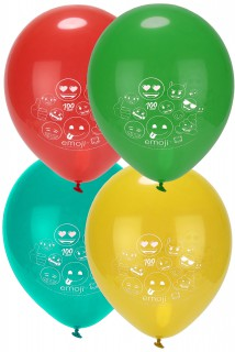 Emoji™-Luftballons 8 Stück