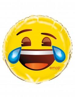 Emoji™-Aluminiumballon Lachendes Gesicht
