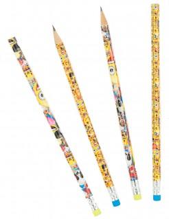 Bleistifte Lizenzartikel Emoji 8 Stück bunt