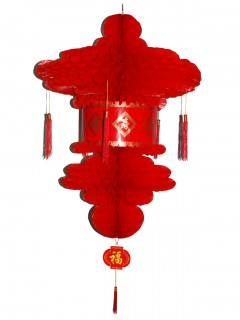 Chinesische Laterne rot 80 cm