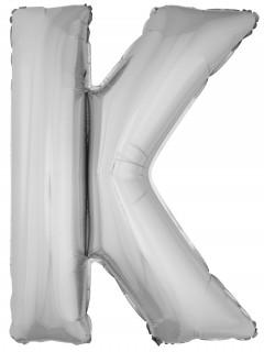 Riesen-Luftballon Buchstabe K Aluminium-Ballon Deko 1m