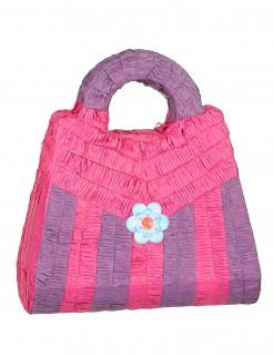 Piñata Handtasche lila-rosa