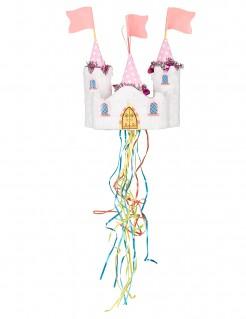 Piñata Schloss Prinzessin bunt 60x28cm
