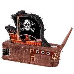 Piñata Schiff Piraten bunt