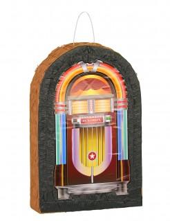 Piñata Musik Jukebox bunt 33x50cm