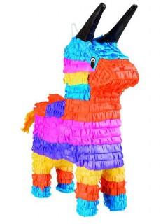 Piñata Esel bunt
