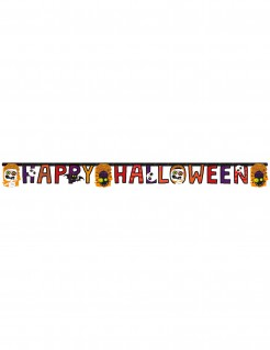 Happy Halloween Girlande Party-Deko bunt 180cm