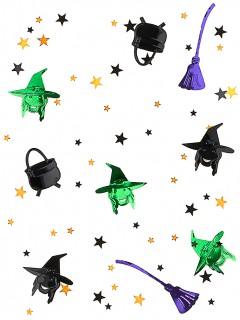 Hexen Konfetti Halloween Party-Deko bunt 14g