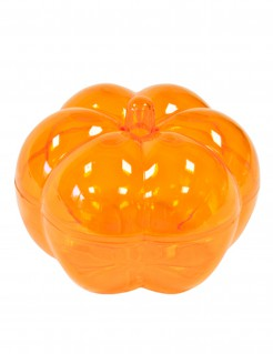Kürbis-Behälter für Halloween-Süssigkeiten orange 5x7cm