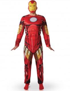 Kostüm Iron Man für Herren rot-gelb