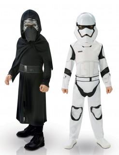 Kylo Ren & Stormtrooper - Star-Wars-Verkleidungen für Kinder in Schwarz und Weiß