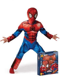 Kostüm Ultimate Spiderman-Kinderkostüm rot-blau-schwarz