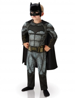 DC Comics Batman Dawn of Justice Kinderkostüm Deluxe Lizenzware grau-schwarz
