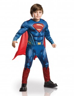 DC Comics Superman Dawn of Justice Kinderkostüm Lizenzware blau-rot