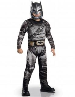 Kostüm Batman für Kinder schwarz-grau