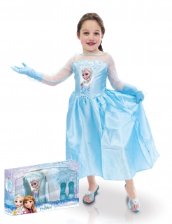 Kostüm Eiskönigin Disney für Mädchen blau