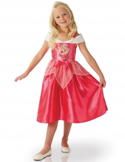 Aurora aus Disneys Fairy Tales - Kostüm für Mädchen rosenrot