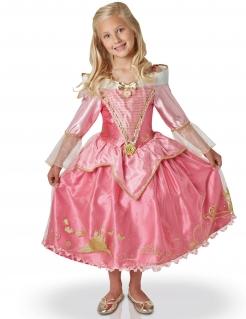 Aurora™-Kinderkostüm Disney™-Lizenzkostüm rosa-gold