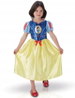 Klassisches Schneewittchen-Kostüm für Mädchen dunkelblau-gelb