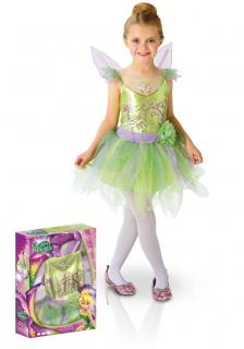 Tinkerbell Lizenzkostüm für Kinder grün-lila
