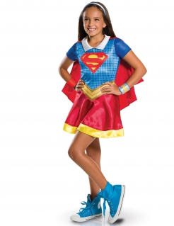 DC Super Hero Girls Supergirl Kinderkostüm Lizenzware bunt
