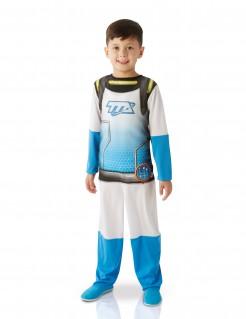 Miles von Morgen™ Kinderkostüm Uniform-Verkleidung weiß-blau-schwarz