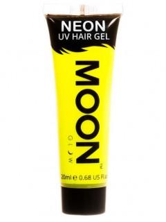 Moon Glow - Neon UV Haar-Gel Haarfarbe Bodypainting fluoreszierend intensiv gelb 20ml