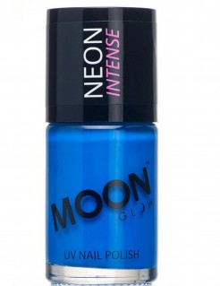 Moon Glow Nagellack UV-Aktiv blau 15ml