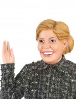 Karikative Máxima Latex-Maske hautfarben