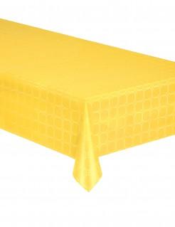 Papiertischdecke Party-Accessoire Tischdeko gelb 120 x 600cm