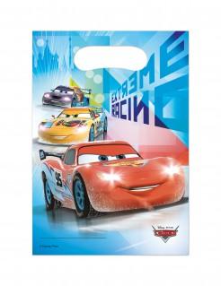 Tüte Lizenzartikel Cars™ Geburtstagstüte 6 Stück bunt 16,5x23cm