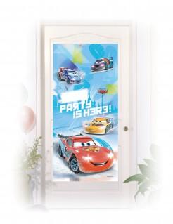 Plakat Tür-Deko Lizenzartikel Cars bunt 76x150 cm