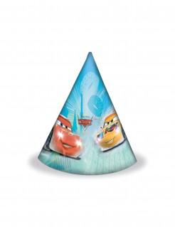 Disney Cars Party-Hüte 6 Stück bunt 16x12cm