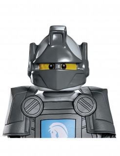 Lance Nexo Knights Kindermaske Lego-Maske grau-gelb-schwarz