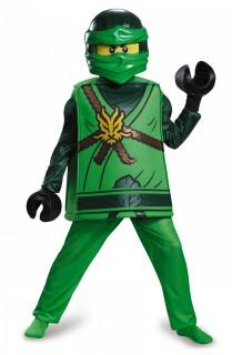 Lego® Lloyd Ninjago Kinderkostüm Ninja grün-schwarz