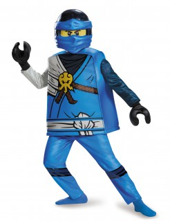 Hochwertiges Lego®-Kinderkostüm von Jay Ninjago™ blau