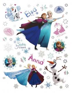 Sticker Fensterbilder Lizenzware Die Eiskönigin 42-teilig bunt