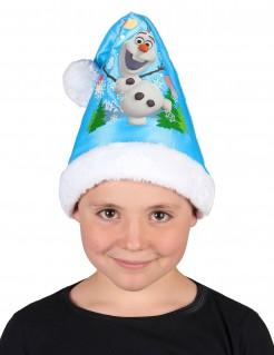 Weihnachtsmütze mit Olaf aus Die Eiskönigin™ blau