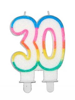 Geburtstagskerze Zahl 30