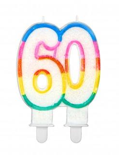 Geburtstagskerze Zahl 60