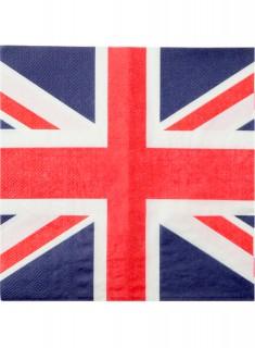 Servietten UK Papier 20 Stück 33 x 33 cm