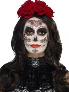 Tag der Toten Halloween Schmink-Set bunt
