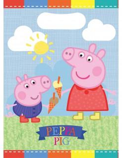 Peppa Wutz™ Geburtstagstüten Party-Zubehör 6 Stück bunt