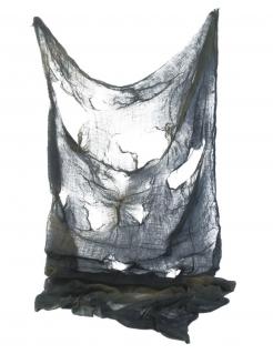 Halloween-Deko-Tuch schwarz 150x210 cm