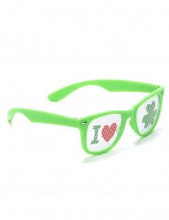 Spaßbrille I love St. Patrick